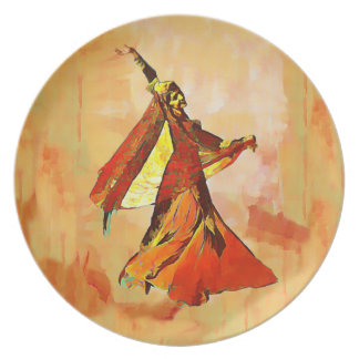 The persian dancer plate