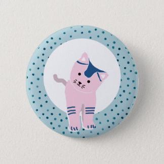 THE PET - KITTEN 2 INCH ROUND BUTTON