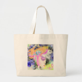 The pet lady large tote bag