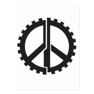 The PG Peace Gear Postcard