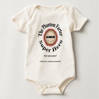 The Phantom Farter Super Hero (Baby) Baby Bodysuit