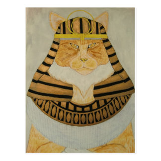 The Pharaoh Cat Postcard
