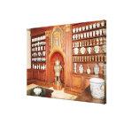 The pharmacy of the Saint-Jean Hospital Canvas Print