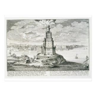 The Pharos of Alexandria, plate 9 from 'Entwurf ei Postcard