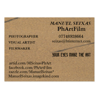 The PhArtFilm Large Business Card