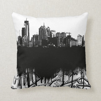 The Philadelphia Project Throw Pillow