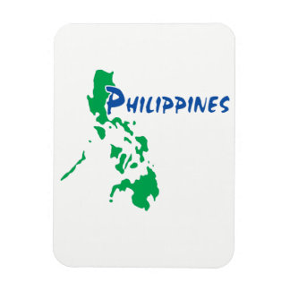 The Philippines - a Stylised map Magnet