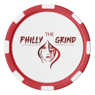The Philly Grind Poker Chip Poker Chip Set