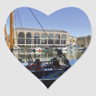 The Phoenician Heart Sticker