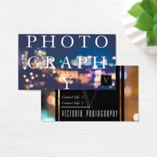 The Photographer's Business Card