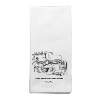 The Pianist - Piano Theme Napkin