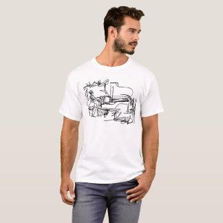 The Pianist - Piano Theme T-Shirt