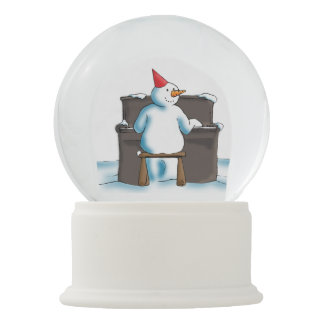 The Pianist Snow Globe