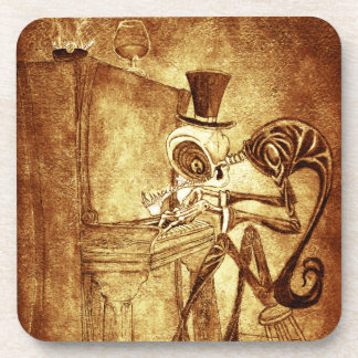 the piano player coaster