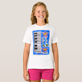 """The """"Piano Shirt"""" for girls by Neil Myers T-Shirt"""