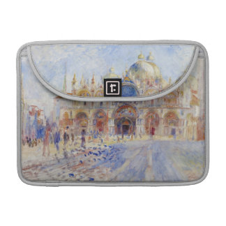 The Piazza San Marco, Venice, 1881 (oil on canvas) MacBook Pro Sleeves