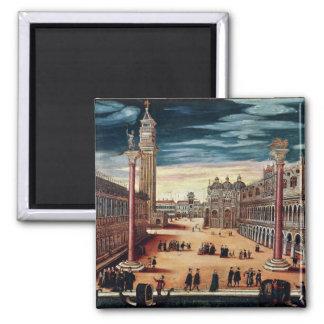 The Piazzetta di San Marco, Venice Magnet