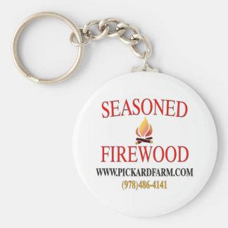 The Pickard Farm Seasoned Firewood Keychain