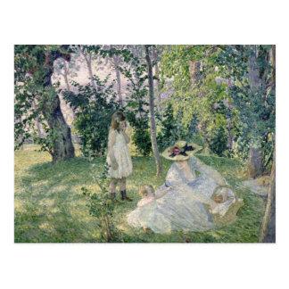 The Picnic, 1903 Postcard
