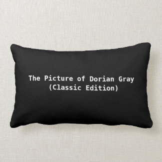 The Picture of Dorian Gray Pillow /Classic Edition