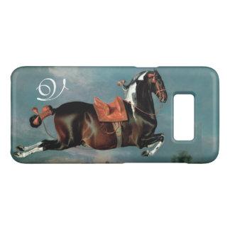 "The Piebald Horse ""Cehero' Rearing Monogram Case-Mate Samsung Galaxy S8 Case"