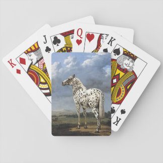 The Piebald Horse Playing Cards
