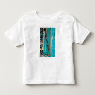The Pier and Beach and Long Beach Toddler T-shirt
