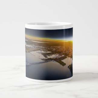 The Pier Large Coffee Mug