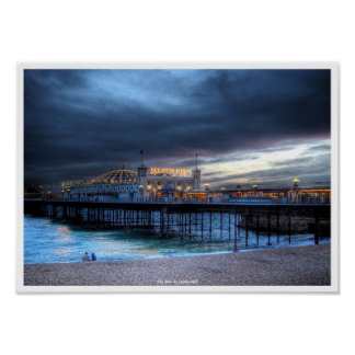 The Pier Poster