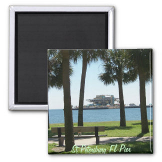 The Pier St Petersburg Florida Magnet