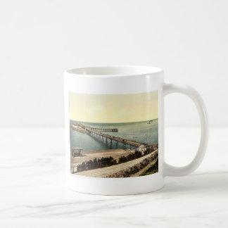 The pier, Weston-super-Mare, England rare Photochr Coffee Mug
