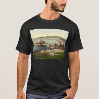 The Pier, with Drake's Island, Plymouth, England T-Shirt