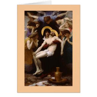 The Pieta by Bouguereau Card