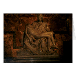 The Pieta by Michelangelo Card