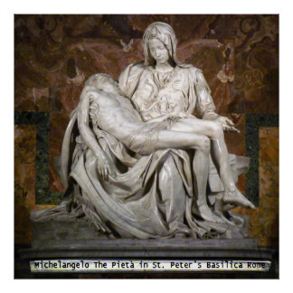 The Pieta Poster