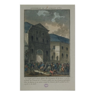 The Pillage of the Saint-Lazare Convent Poster
