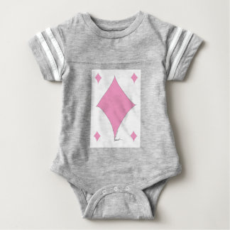 the pink diamond baby bodysuit