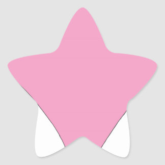 the pink diamond star sticker