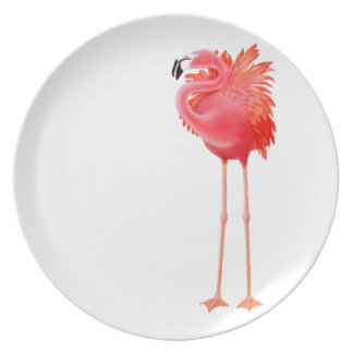 The Pink Flamingo Plate