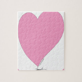 the pink hearts jigsaw puzzle