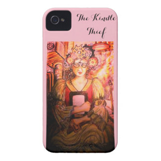 The Pink Kindle Thief iPhone 4 Cover
