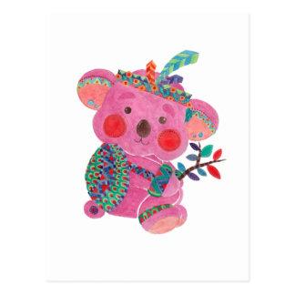 The Pink Koala Postcard