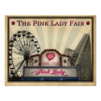 The Pink Lady® Fair Poster
