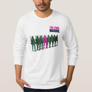 The Pink Marine Long Sleeve Cotton Shirt