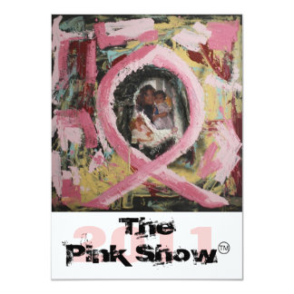 The Pink Show 2011 Card