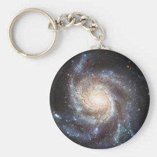 The Pinwheel Galaxy NGC 5457 Messier 101 Keychain