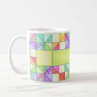 The Pinwheel Quilt Mug