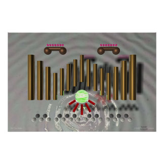The Pipe Organ Poster