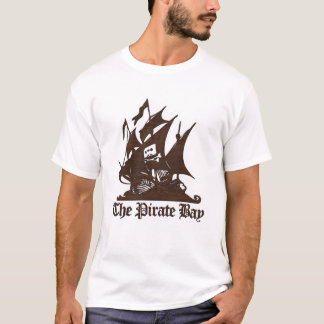 The Pirate Bay Brown Logo Tee