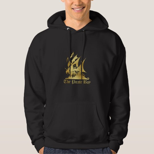 The Pirate Bay Gold Logo Hoodie